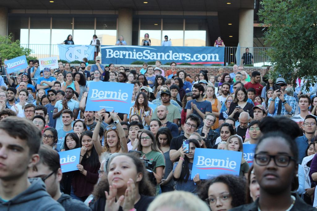 The youth is smitten with Bernie Sanders, and for good reason.