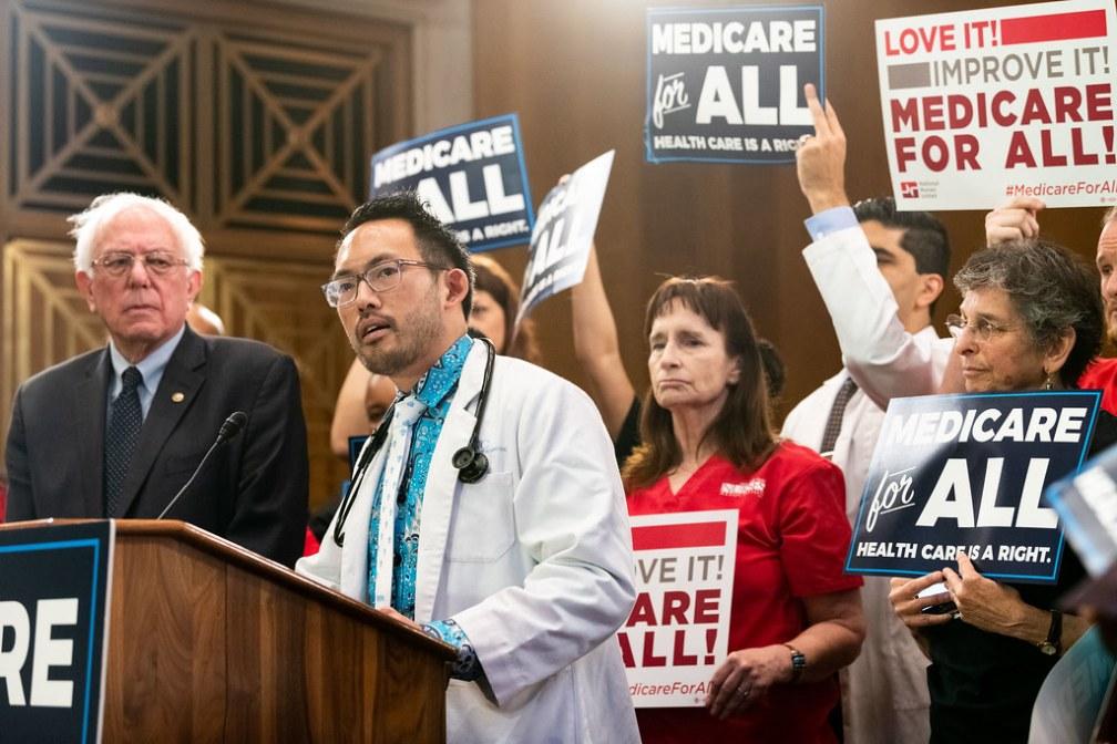 Bernie Sanders, Medicare for All